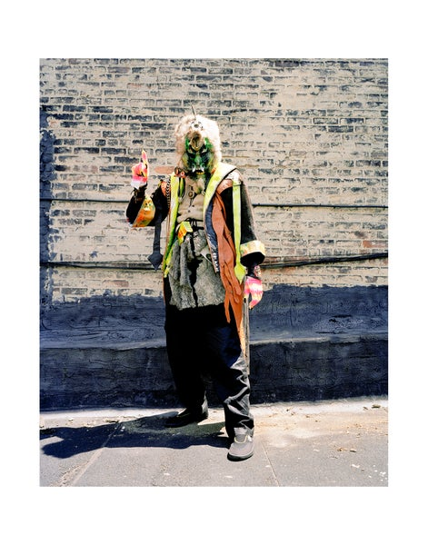 Image of 11x14 Rammellzee, NYC 2000