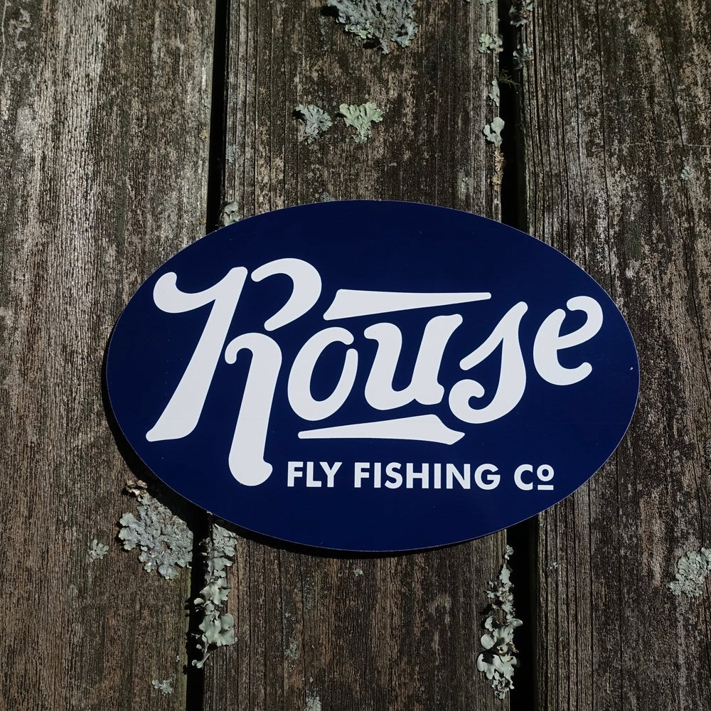 Image of Rouse Fly Fishing Sticker