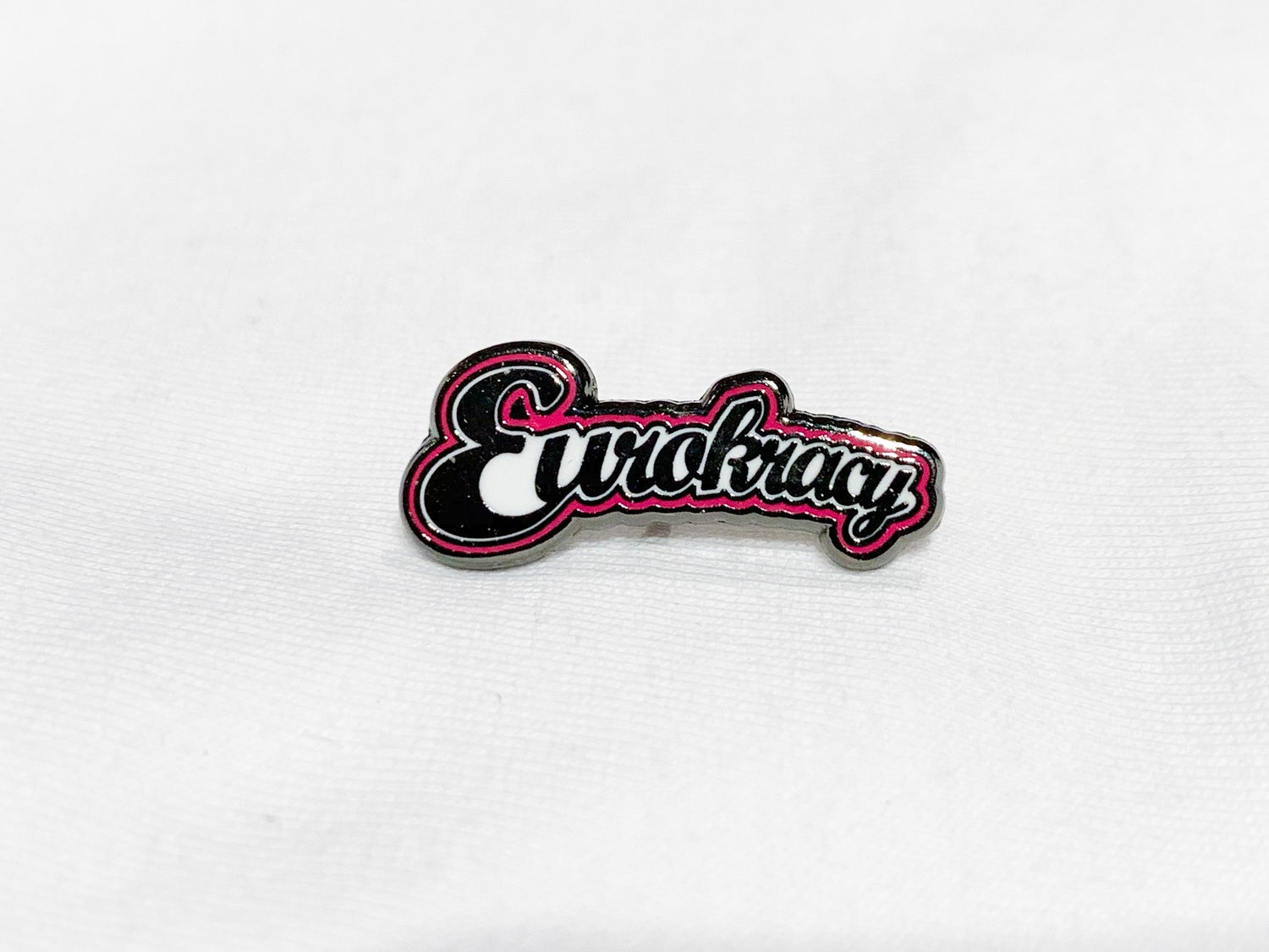 Image of Eurokracy Hard Enamel Pin