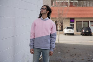 Image of 10k Follower Color Block Sweater PREORDER