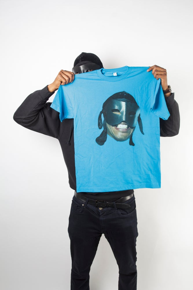 Image of Aqua Big Face T Shirt