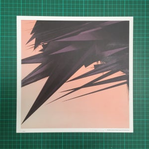 Image of 'Solar System Parameters' signed litho print