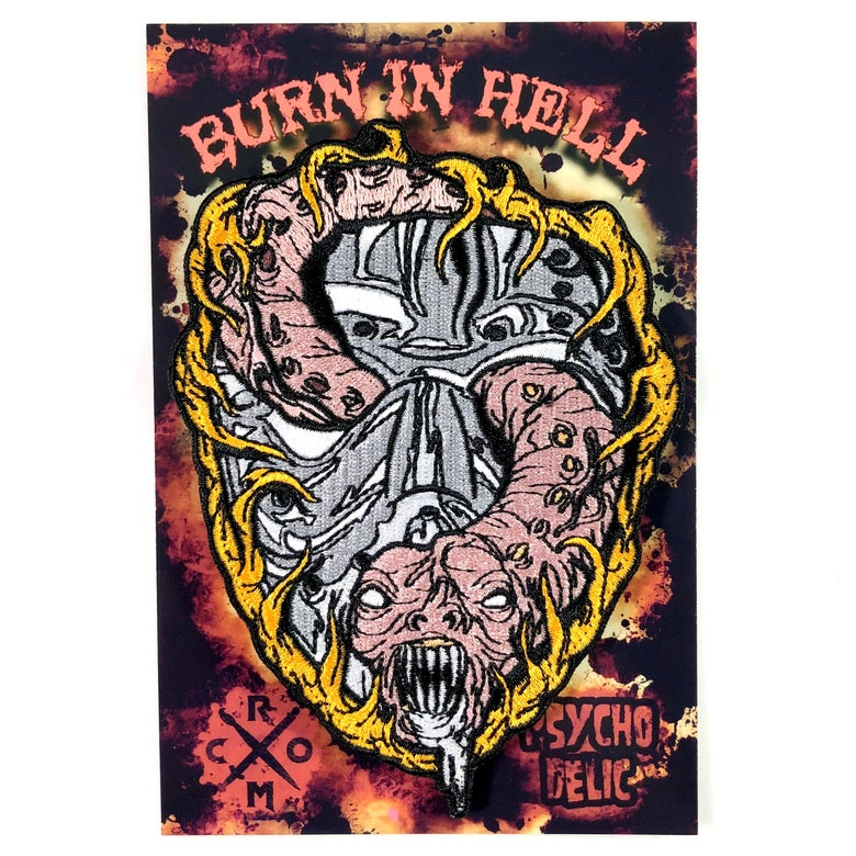 Image of Burn In Hell (Patch)