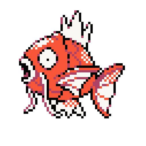 Image of MAGIKARP Pokemon Evolutions with Shiny Gyarados PATTERN PDF