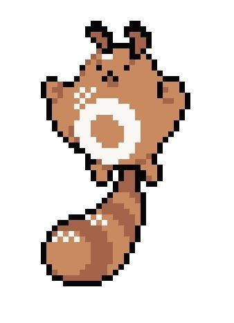 Image of SENTRET Pokemon Evolutions PATTERN PDF
