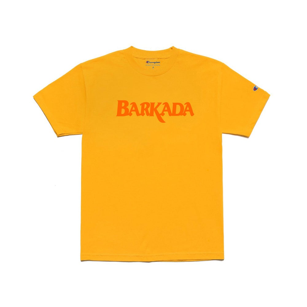 Image of BARKADA Champion Tee (Gold)