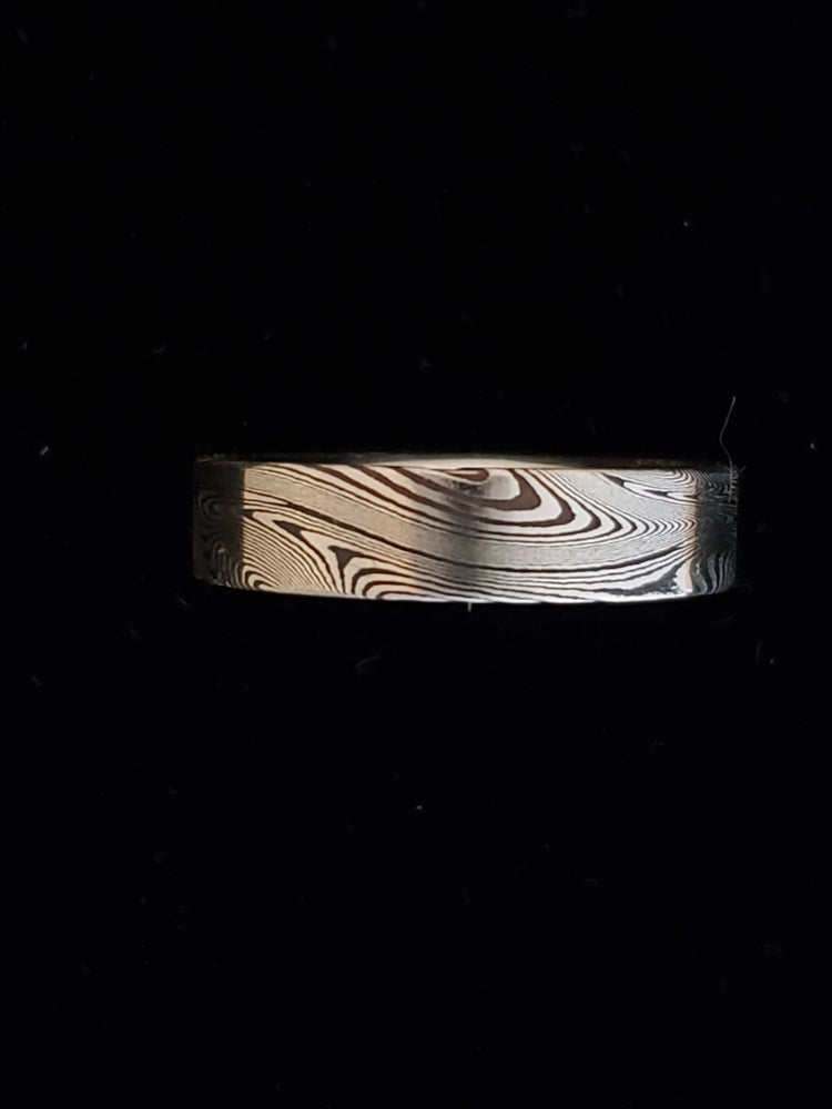 Image of Damascus Steel Rings