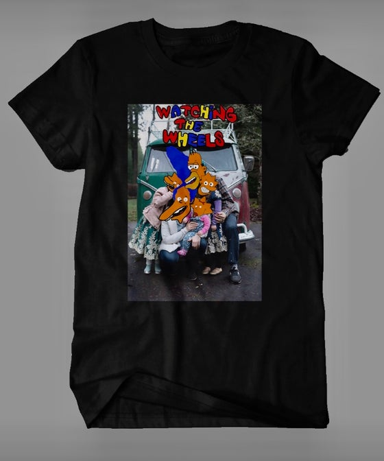 Image of Watching the Wheels T-Shirt