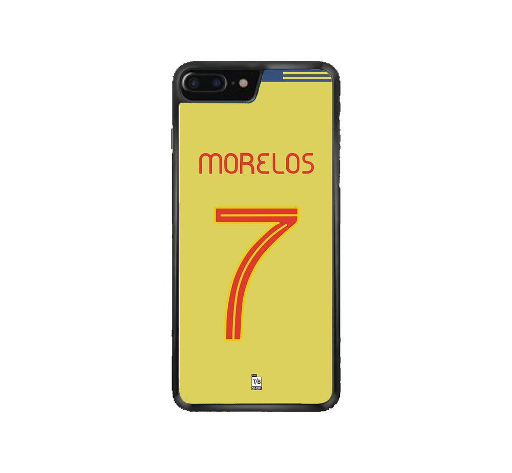 Image of Alfredo Morelos Colombia shirt phone case