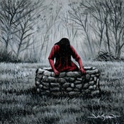 "Image of ""The Well"" - 5"" x 5"" giclee"