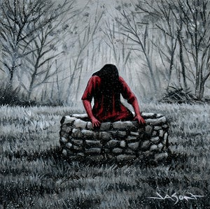 """Image of """"The Well"""" - 5"""" x 5"""" giclee"""
