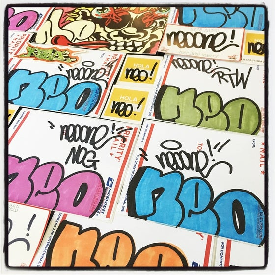 Image of NEO NOG STICKER PACK