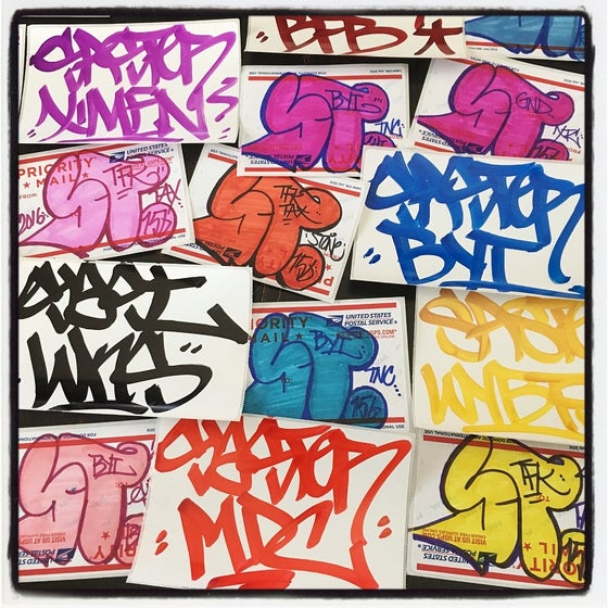 Image of SAST FSU STICKER PACK