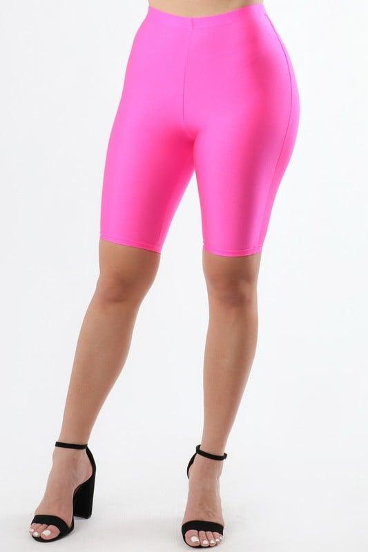Image of Pinky Biker Shorts
