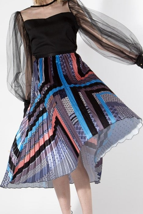 Image of Maude Midi Skirt