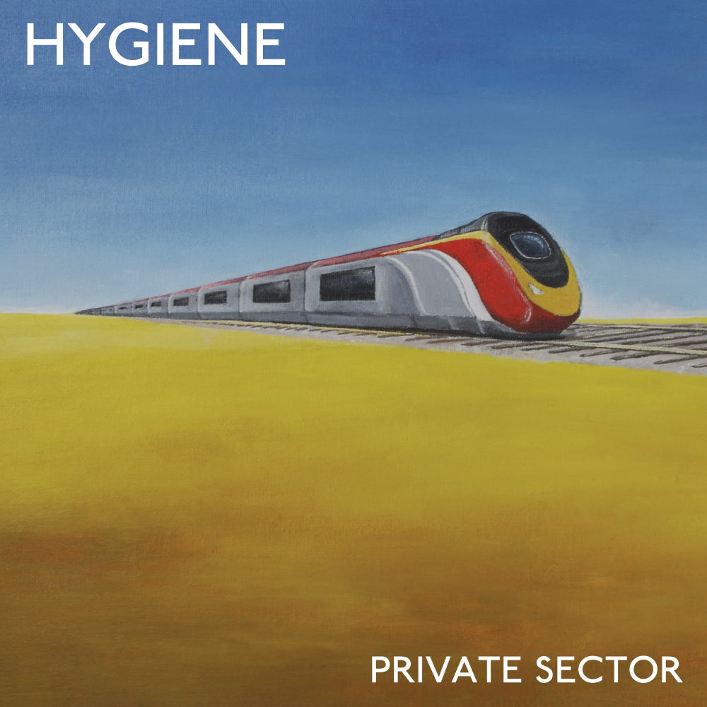 Image of HYGIENE - 'Private Sector' LP