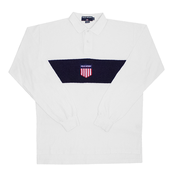 Image of Polo Sport Ralph Lauren Vintage K Swiss Rugby Shirt