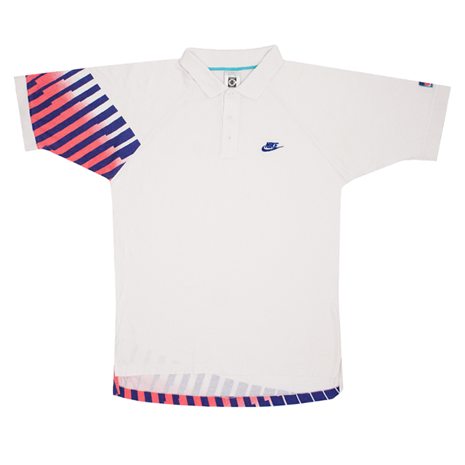 Image of Nike Challenge Court Agassi Vintage and Rare Tennis Polo