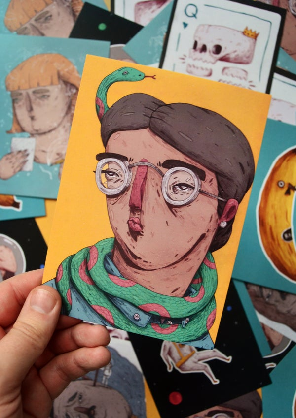 Image of NEW! - Postcard Prints (6 Styles)