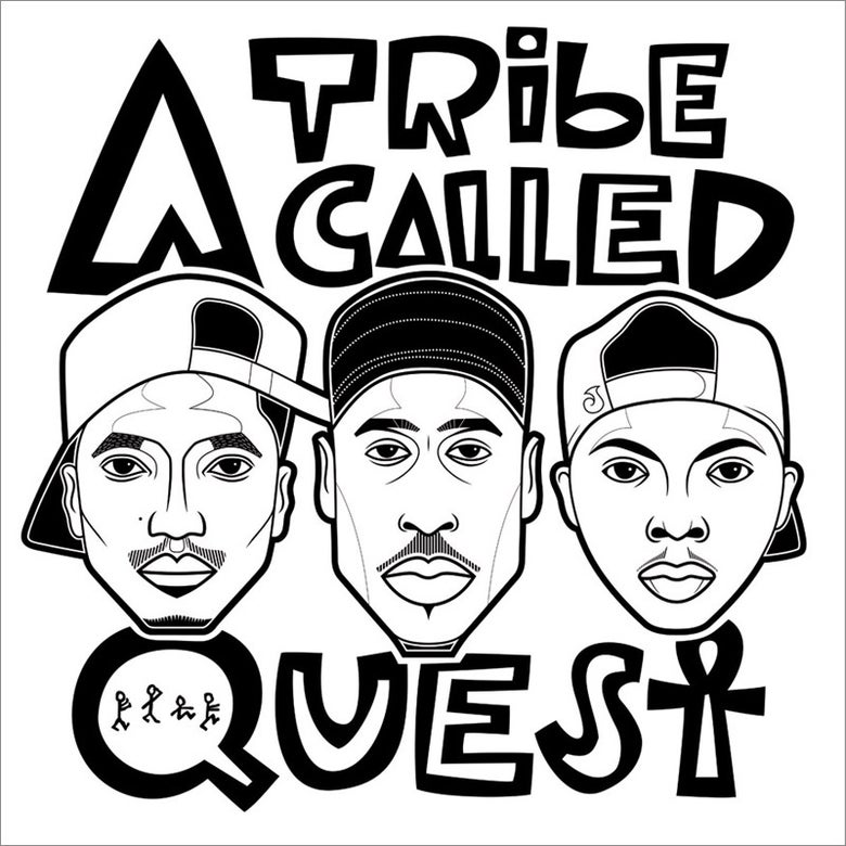 Image of ATCQ (Colour / B+W)
