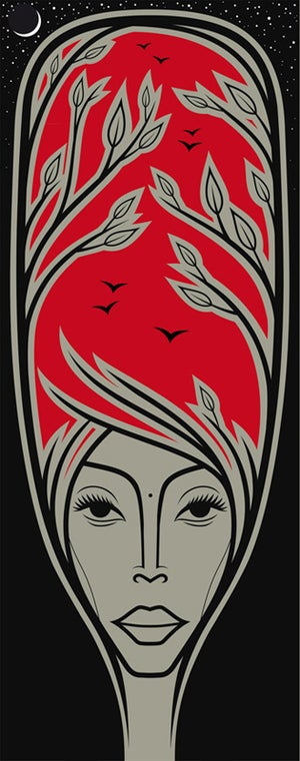 Image of Erykah Badu (Red Badu) - (Blue Badu)