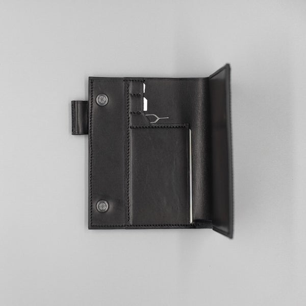 Image of SEWNSEWN - Helsinki' Travel Wallet (Black)