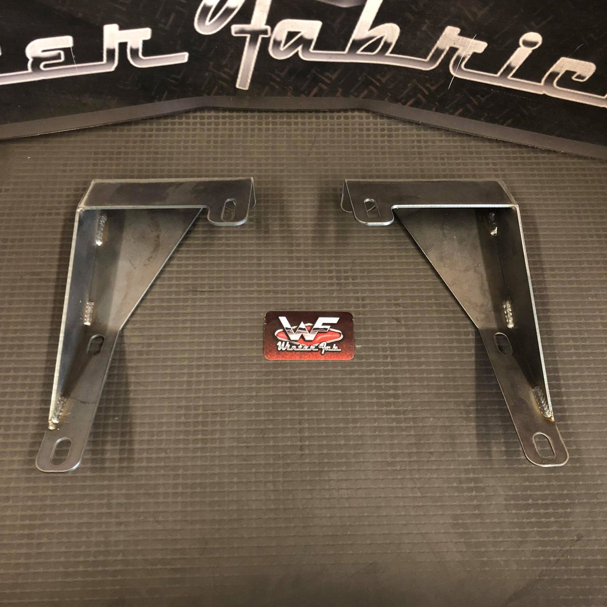 Image of 87-96 Mitsubishi Mighty Max - Bumper Brackets - for mounting 89-95 Toyota 2WD Bumper