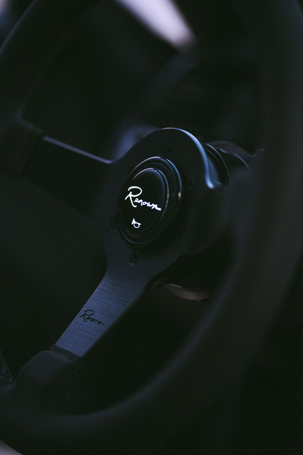 Image of NEW Renown Time Trial Dark Steering Wheel