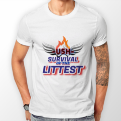 Image of USH TEAM - SURVIVAL OF THE LITTEST T-SHIRT
