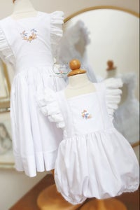 Image of Bird & Bloom Pinafore Dress & Bubble