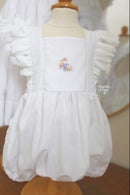 Image 2 of Bird & Bloom Pinafore Dress & Bubble