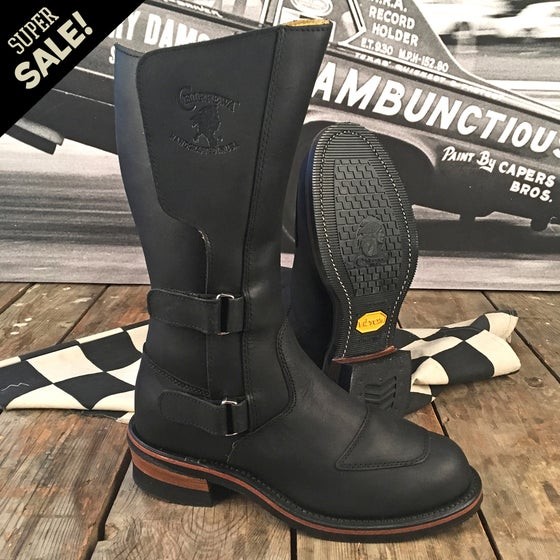"Image of CHIPPEWA 12"" RALLY MOTORCYCLE BOOT"