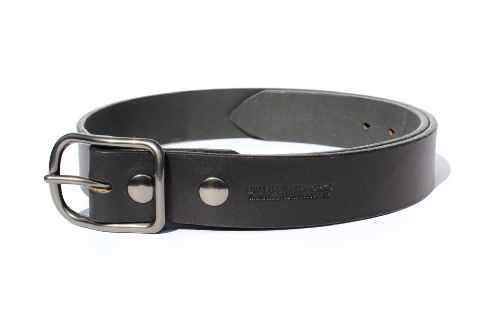 Image of Heavyweight Belt - Black