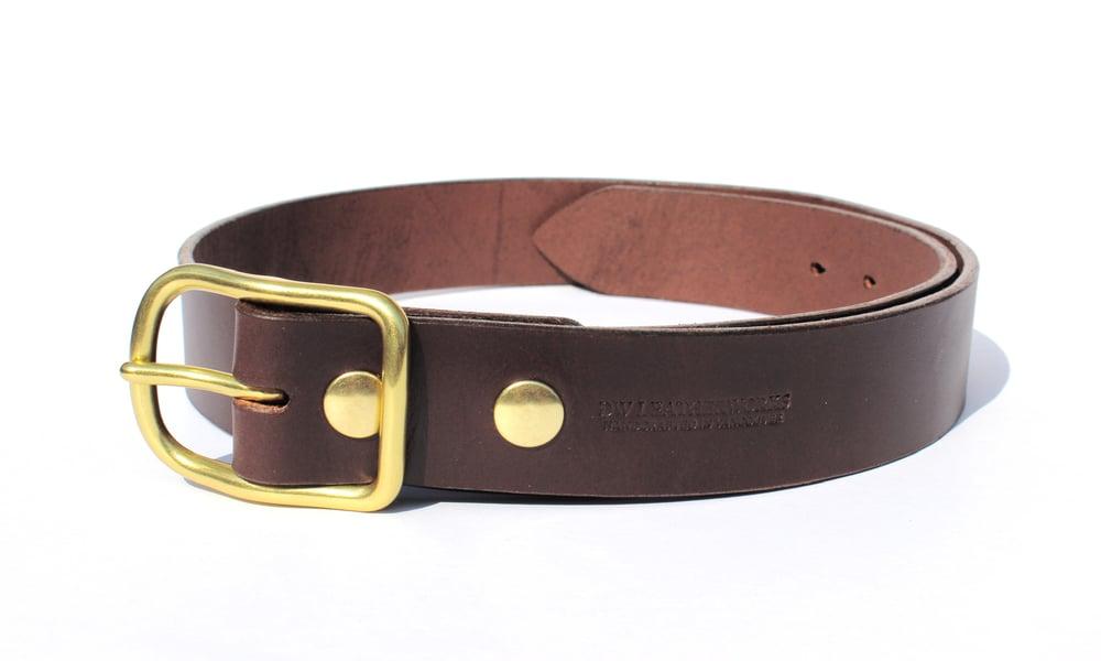 Image of Heavyweight Belt - Dark Brown