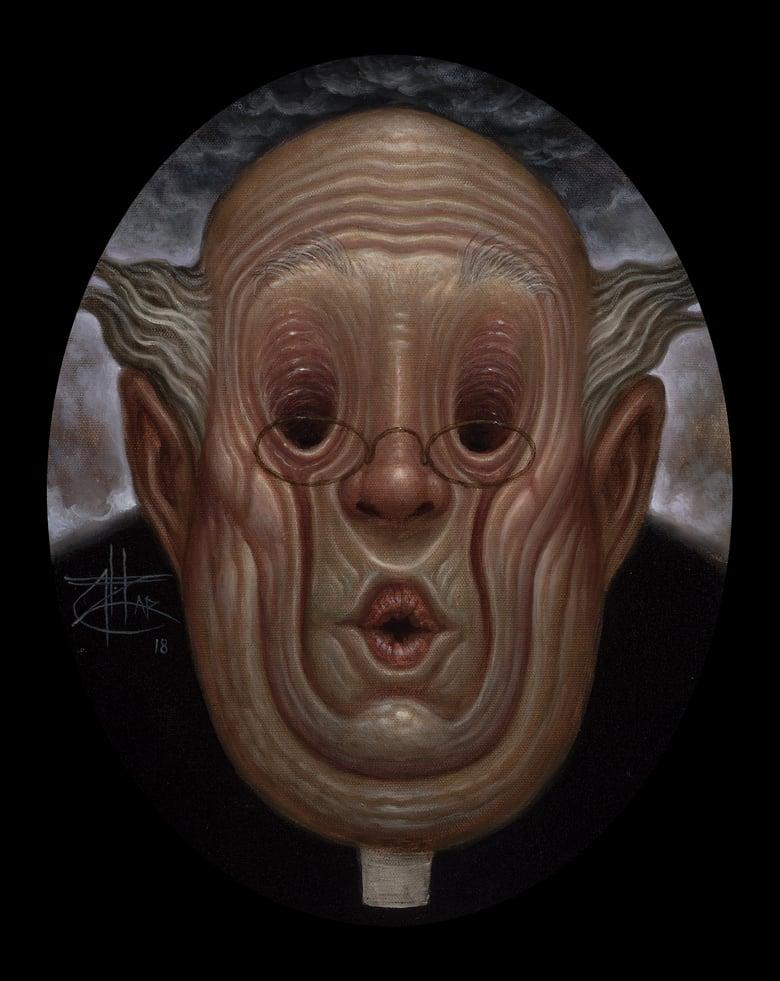 Image of Chet Zar 'The Priest' original painting
