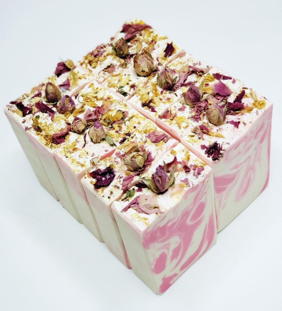 Image of Peonies And Poshness Handmade Soap