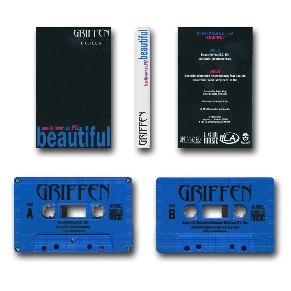 Image of E.C. Illa & Griffen - I Used to Love H.E.R. Pt. 2 Beautiful Tape