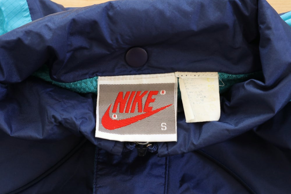 Image of Vintage 1990's Nike Air 3M Logo Windbreaker Jacket Sz.S