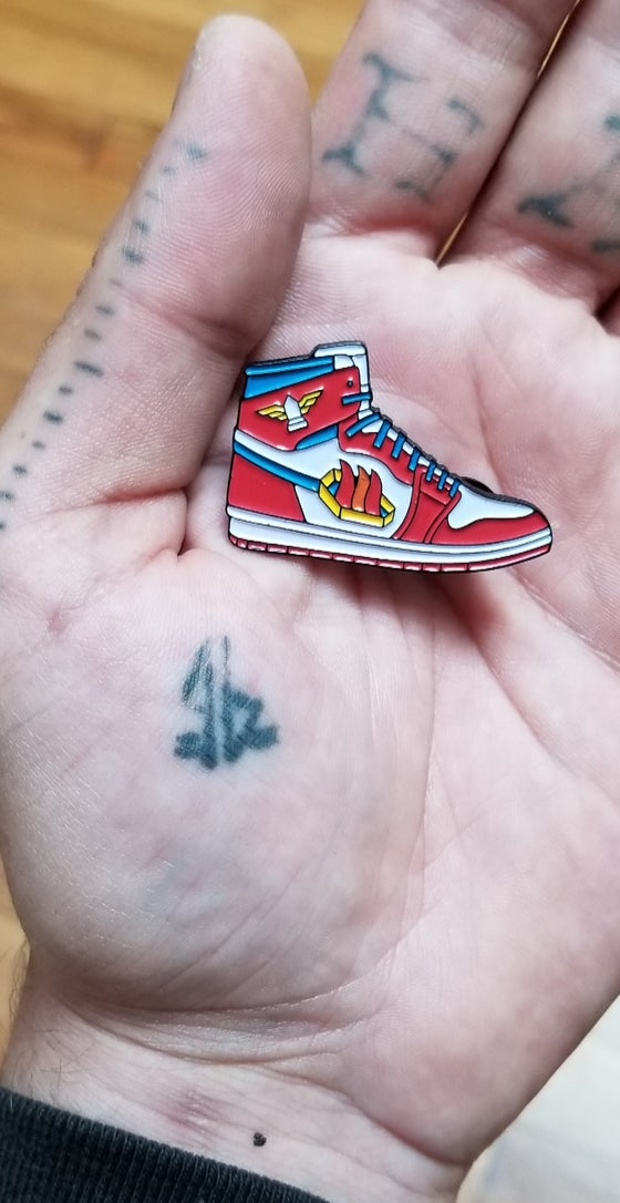 Image of Homeless cop KOTD 1s pin