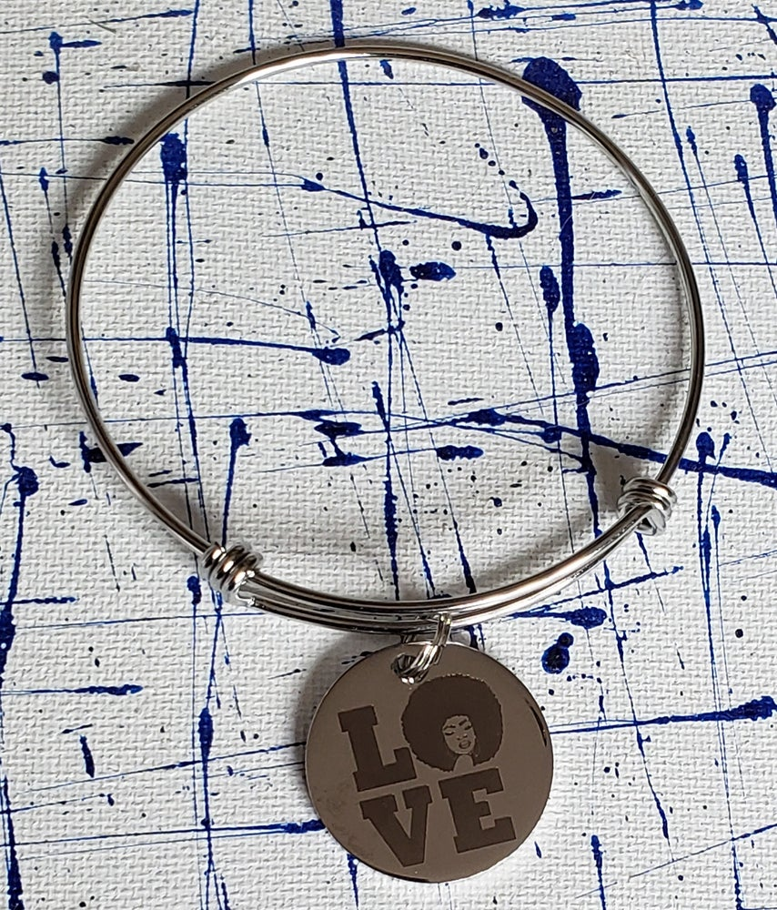 Image of Love Charm Bangle