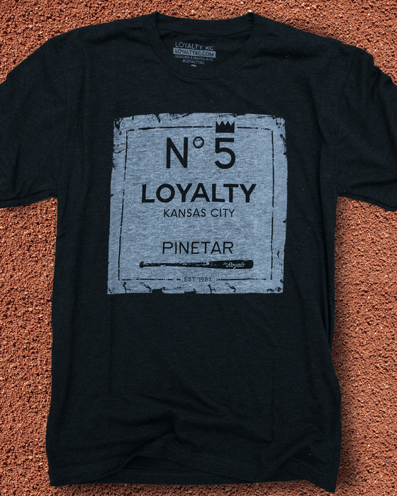 Image of Loyalty KC Pine Tar Shirt