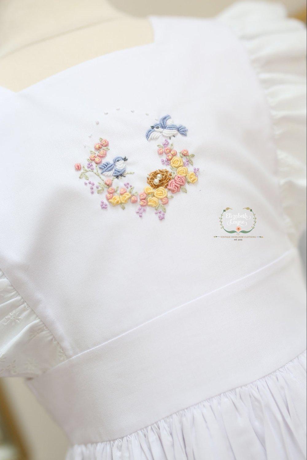Image of Bird & Bloom Pinafore Dress & Bubble