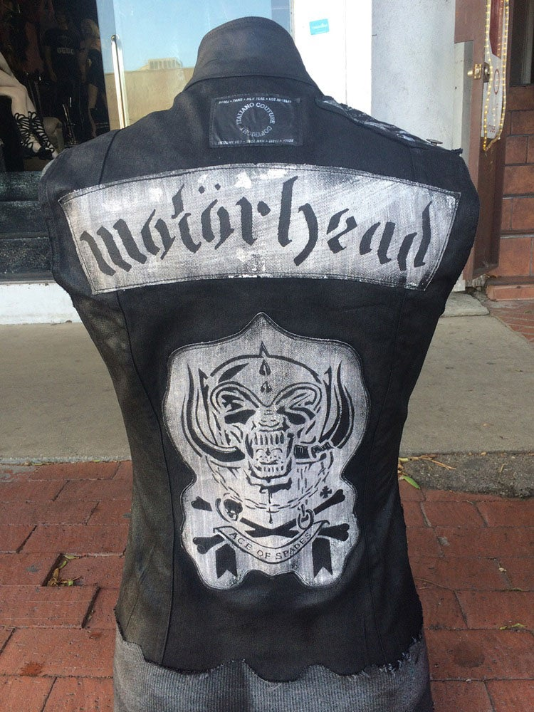 Image of Motörhead Ace of Spades Vest