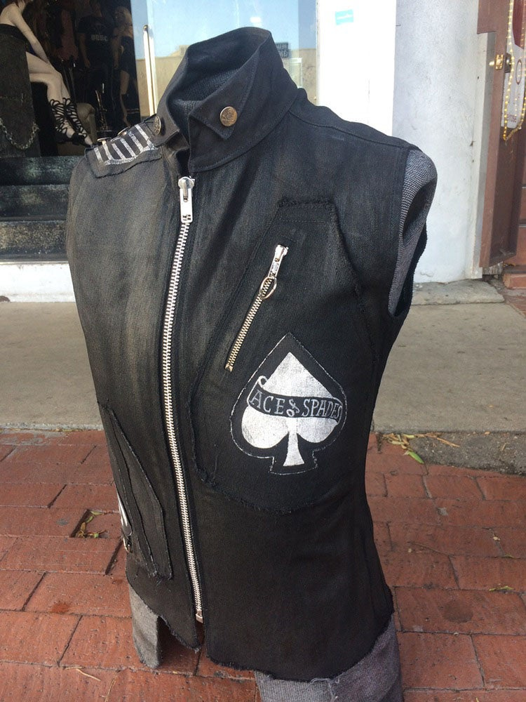 Image of Motörhead Ace of Spades Vest
