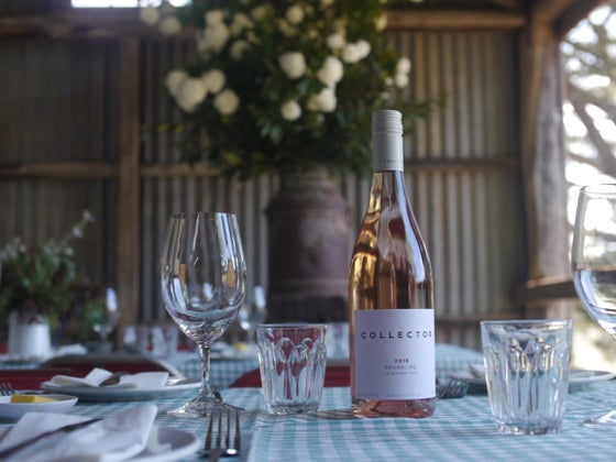 Image of Lunch in the woolshed with Collector wines and Kate McKay, May 19