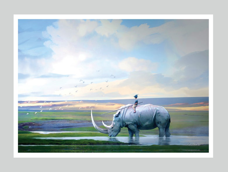 "Image of ""Journey Of Khur"" Limited Signed Edition Print 13x19"