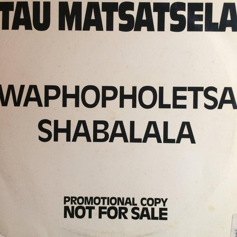 Image of Tau Matsatsela - Waphopholetsa