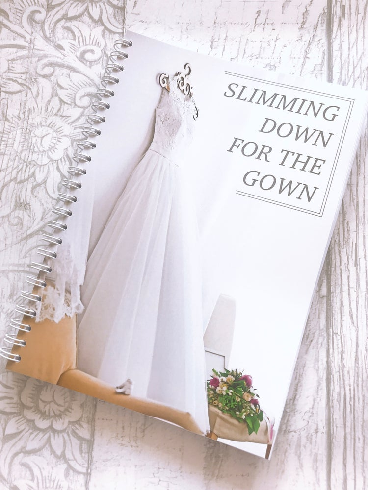 Image of 12 WEEK SPIRAL FOOD DIARY SLIMMING DOWN FOR THE GOWN