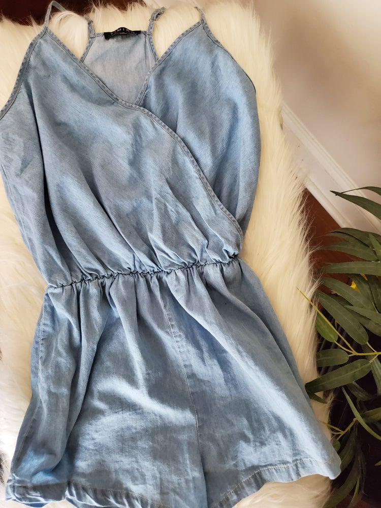 Image of Chambray Romper