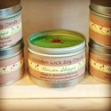 Medium Tin Wooden Wick Soy Candle